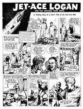 Original Artwork for Jet Ace Logan by John Gillatt - Tiger 20th August 1960