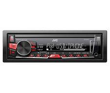 JVC KD-X220 Mechless Stéréo Auto USB avant AUX en iPod iPhone - rénové