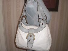$358 COACH Soho Leather Medium Hobo Bag Purse Handbag  17219