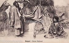 LIBYA  - BENGASI - donne sudanesi - military cancel 1914