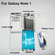 Replacement parts 4 in 1 lcd screen glass lens for samsung galaxy note 1 n7000
