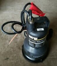 Wayne Vip50 12 Hp Vortex Utility Water Removal Submersible Pump 2500 Gph