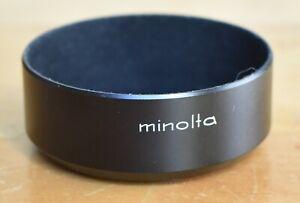 Minolta D55NA 55mm Metal Lens Hood