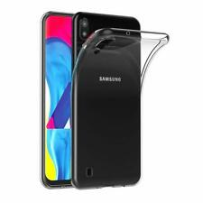 For Samsung Galaxy M10 Case Clear Silicone Slim Gel Cover & Stylus Pen