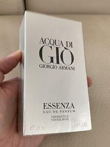 Giorgio Armani Acqua Di Gio Essenza Eau De Parfum 75 ML Sealed