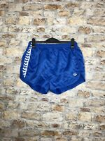MENS VINTAGE RETRO ROYAL BLUE SPRINTER OLD SCHOOL HIGH CUT SHORTS L/ XL (112)