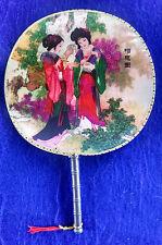 SILK PALACE FAN oriental chinese japanese hand fan