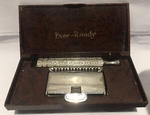 Vintage Ever Ready Open Comb Razor Bakelite Box
