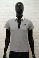 Polo Maglia Uomo ENERGIE GOLD Camicia Taglia XS Shirt Man Manica Corta a Righe