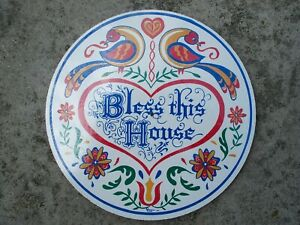 "CONESTOGA CRAFTS Hex Sign, 8"" Bless This House"