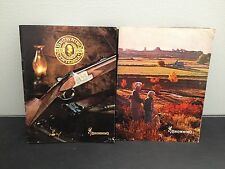 Browning arms and ammo broshures 1978 and 1979