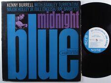 KENNY BURRELL Midnight Blue BLUE NOTE LP mono NY >