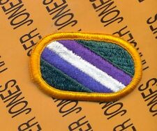 US Army 422nd Civil Affairs Bn CA Airborne para oval patch m/e #2