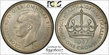 Australia 1937 Crown PCGS MS63 lot 0354
