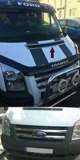 Ford TRANSIT MK7 2006-2013 Chrome Bonnet Ventilation&Front Grill 2pcs S.STEEL