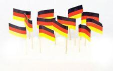 German Germany Mini Toothpicks Picks Flags - Box of 144