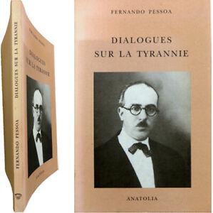 Dialogues sur la tyrannie 1996 Fernando Pessoa Défense de la franc-maçonnerie