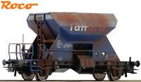 """Roco H0 75965 Schotterwagen der Railpro """"gealtert"""" - NEU + OVP"""