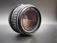 "READ "" As Is "" SMC PENTAX M 50mm f/1.4 MF Prime Standard lens K mount from JAPAN"