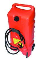 CEMO Kraftstofftrolley 53 Liter mit Zapfpistole