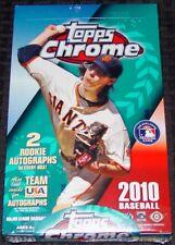 2010 Topps Chrome Baseball Hobby Box  Strassburg, Stanton RC?