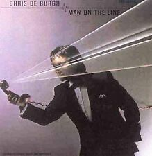 Chris De Burgh MAN ON THE LINE cd 1984 JAPAN-U.S. 1ST PRESS(deburgh) U.S. SELLER