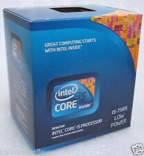 Intel BX80605I5750S SLBLH Core i5-750S 8M Cache 2.40 GHz LGA1156 New Retail Box