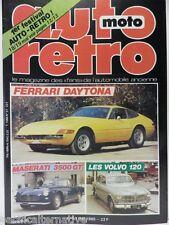 Revue AUTO RETRO magazine n° 57 - mai 1985 collection ferrari daytona volvo 120