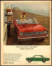 1965 automobile ad for Rambler American 440-925