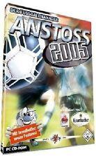 ANSTOSS 2005 - Der Fussballmanager * WinXP BRANDNEU&OVP