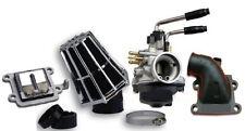 Kit Carburettor 17.5 Pipe + Box Valves + Air Filter Pr Booster Bw's