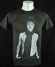 Pete Doherty Retro Dark grey 100% cotton t-shirt Tee Punk Rock Siez L