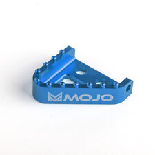 MOJO KTM Rear Brake Step Plate Blue - CNC Billet Anodized Alum. | MOJO-KTM-SPBLU