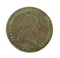 .1800 AUSTRIA AUSTRIAN 6 KREUZER COIN.