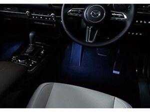[NEW] JDM Mazda CX-30 DM Foot Lamp Illumination LED Blue Genuine OEM