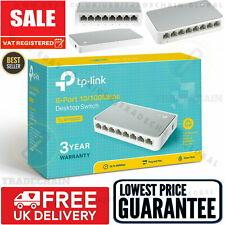 8 Port Fast Ethernet Desktop Switch LAN TP-LINK Network Hub TPLINK 10/100Mbps