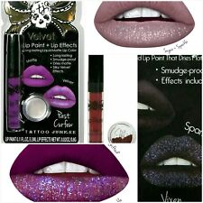 Tattoo Junkee Lip Color + Sparkle Dust Effects LIP KIT ~ Choose Your Color