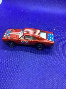 1970's Vintage Zee Car 1:64 Scale Toy Dodge Charger #4001 Made in Hong Kong  Min