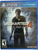 Uncharted 4: A Thief's End PS4 Playstation 4 Game Disc Only 54m