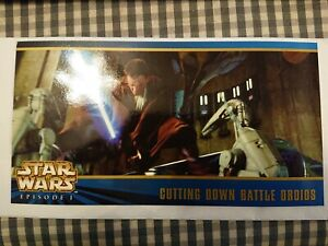 Star Wars Topps Widevision 1999 Episode I Series Two Carte Promotionnelle BT2