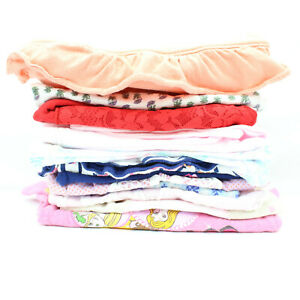 Lot of 13 Pc Baby Girls Size 12 Month One Piece Tops Shorts Clothing