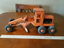 Vintage MARX Power Road Grader Highway Dept Construction Toy Lumar Pressed Steel