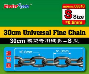 Trumpeter 30cm Universal Fine Chain #S Size (0.6mm x 1.0mm)