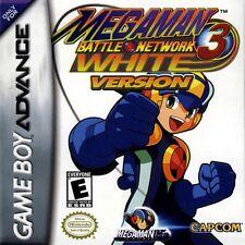 Mega Man Battle Network 3: White Version - Game Boy Advance GBA Game