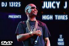 Juicy J MUSIC VIDEOS HIP HOP RAP DVD