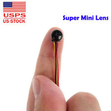 smallest 1000TVL mini Pinhole spy CAM HD Hidden DIY screw Lens tiny video camera