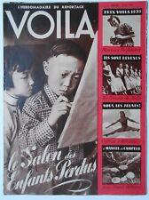 ►VOILA 433 / 1939 - PAUL ALLARD - ARCHIPEL DE MARIUS IF // GABY - GABY DESLYS