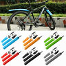 Bike Bicycle Mudguards Mountain MTB Cycling Fender Fronts Rears Mud Guard Set UK