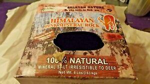 Himalayan Salt Animal Lick 8 lb Block Shrink Wrapped & Boxed