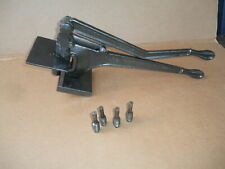 W A WHITNEY No 2  metal Hole Punch and holder